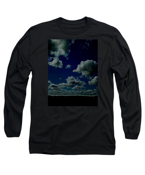 Long Sleeve T-Shirt featuring the digital art Regret by Jeff Iverson