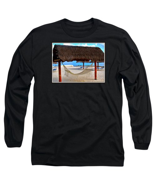 Long Sleeve T-Shirt featuring the photograph Relaxation Defined by Patti Whitten