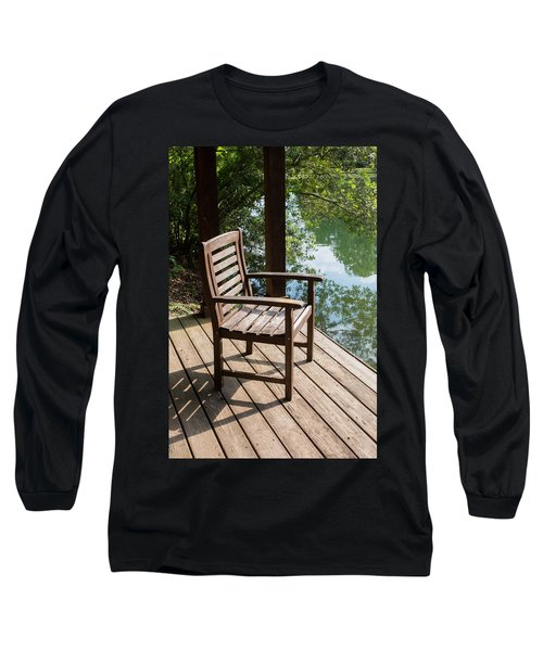 Alone By The Lake Long Sleeve T-Shirt