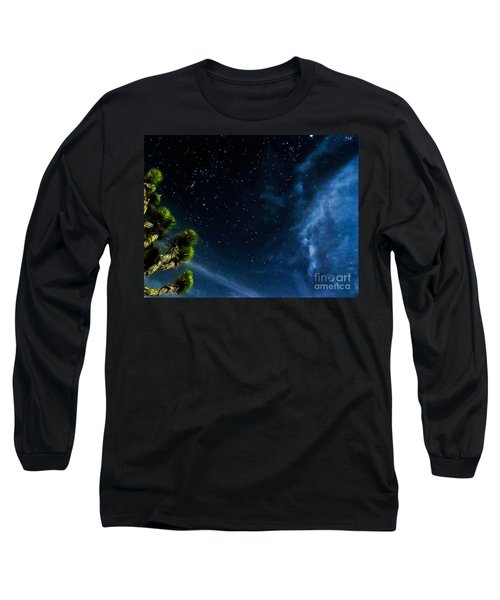 Releasing The Stars Long Sleeve T-Shirt by Angela J Wright