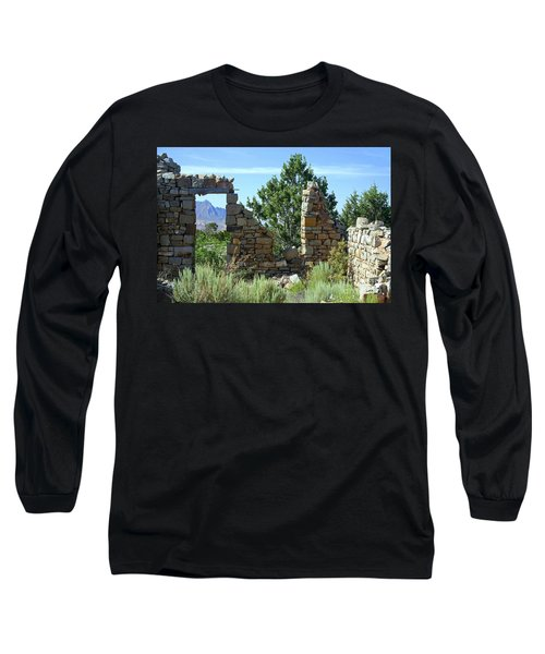 Remains Of A Dream Long Sleeve T-Shirt by Bob Hislop