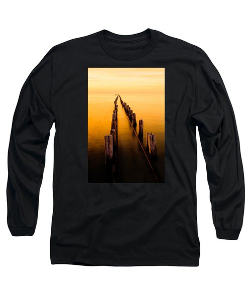Remnants Long Sleeve T-Shirt by Chad Dutson
