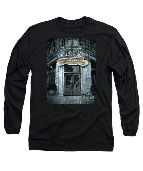 Long Sleeve T-Shirt featuring the photograph Rendezvous Lounge - Lancaster Pa. by Joseph J Stevens