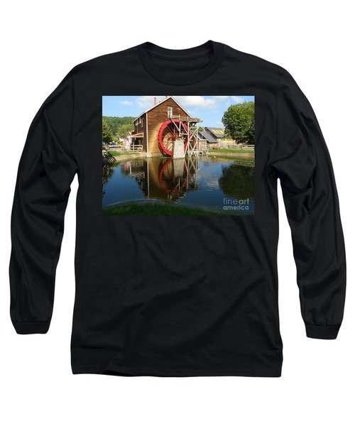 Renfro Valley  Mill Long Sleeve T-Shirt by Mary Carol Story