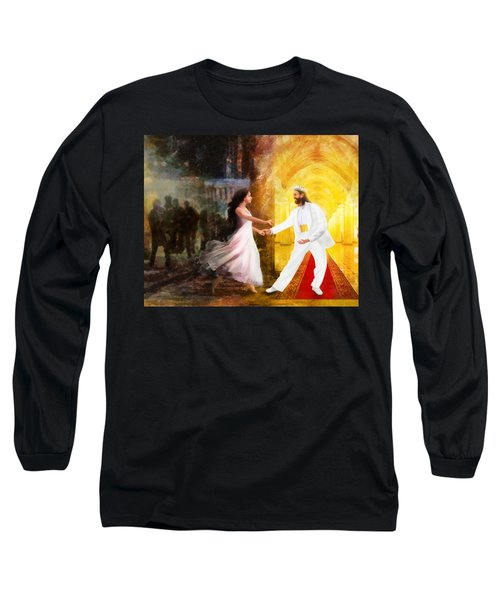 Rescued From Darkness Long Sleeve T-Shirt by Francesa Miller