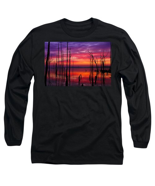 Reservoir At Sunrise Long Sleeve T-Shirt