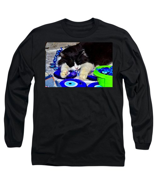 Resting At Work Long Sleeve T-Shirt