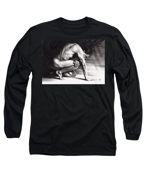 Resting Il Long Sleeve T-Shirt by Paul Davenport