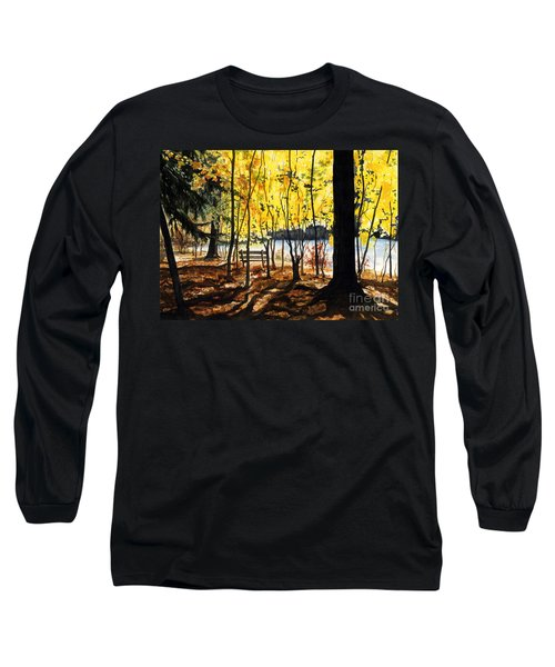 Resting Place Long Sleeve T-Shirt by Barbara Jewell