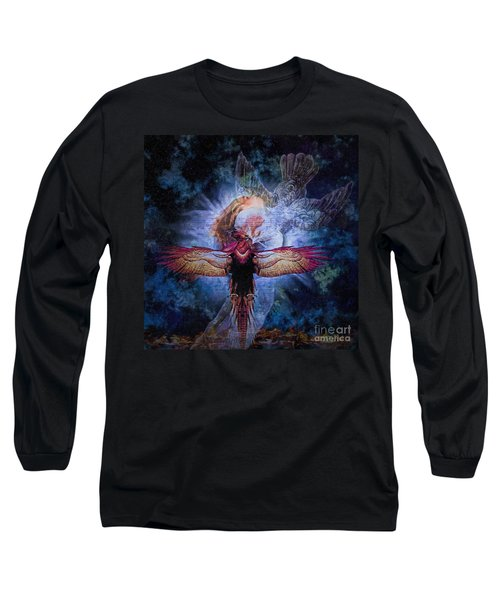Resurrection Long Sleeve T-Shirt by Lianne Schneider