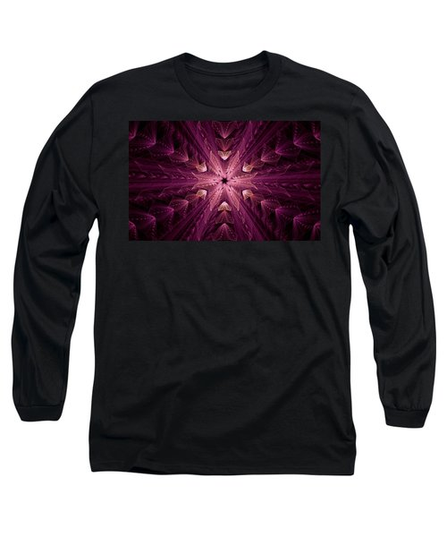 Long Sleeve T-Shirt featuring the digital art Returning Home by GJ Blackman