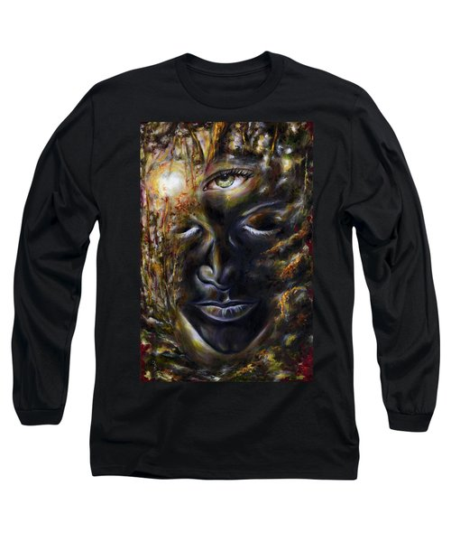 Long Sleeve T-Shirt featuring the painting Revelation by Hiroko Sakai