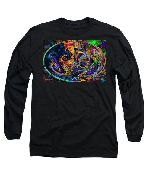 Long Sleeve T-Shirt featuring the digital art Rhythm Of The Soul by Annie Zeno