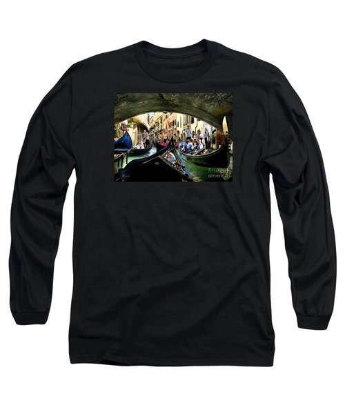 Long Sleeve T-Shirt featuring the photograph Rhythm Of Venice by Jennie Breeze
