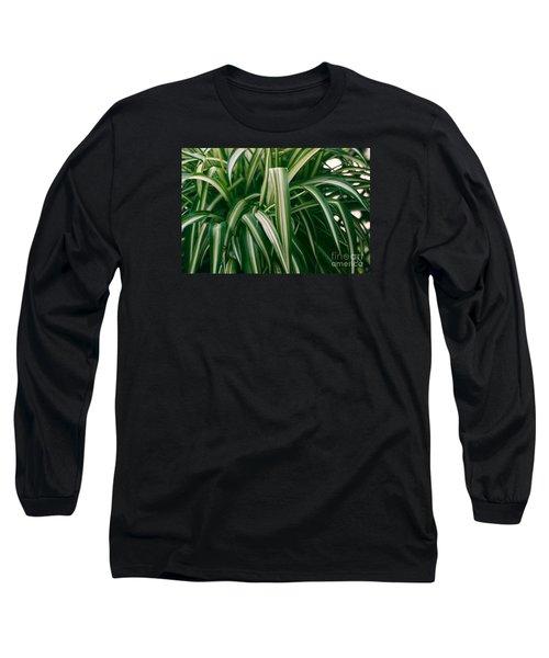 Ribbon Grass Long Sleeve T-Shirt