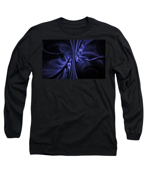 Ribbons Of Time Long Sleeve T-Shirt by GJ Blackman
