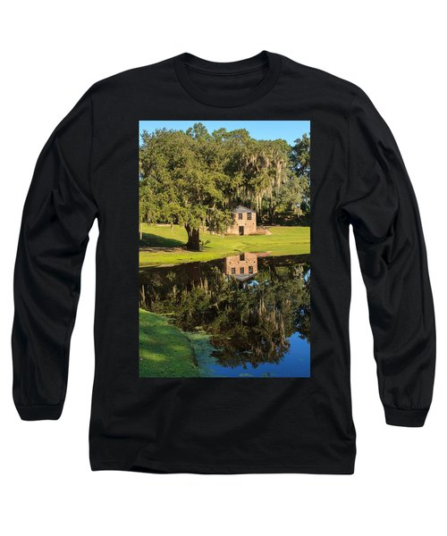 Rice Mill  Pond Reflection Long Sleeve T-Shirt