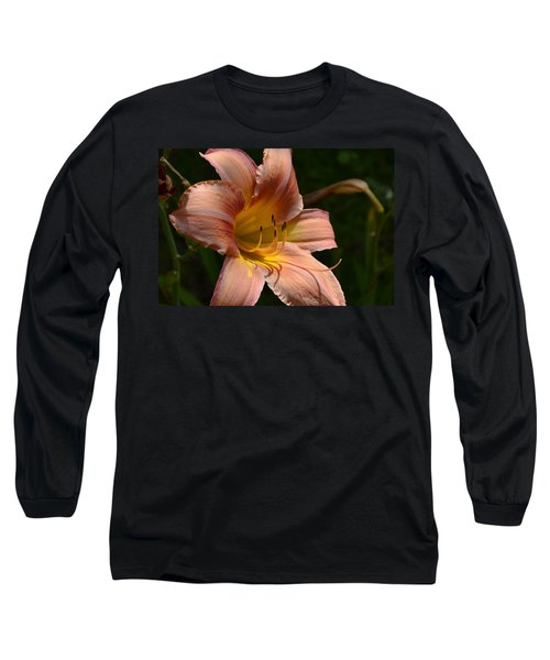 Long Sleeve T-Shirt featuring the photograph Rich Day by Larry Bishop