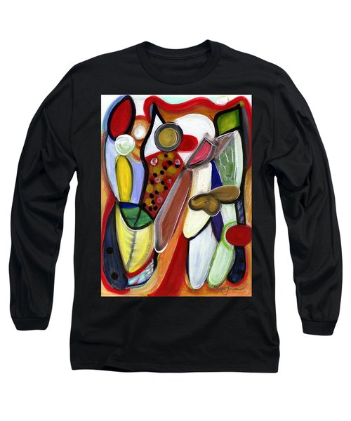 Rich In Character Long Sleeve T-Shirt by Stephen Lucas