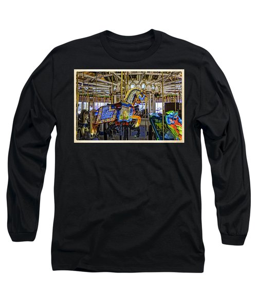 Ride A Painted Pony - Coney Island 2013 - Brooklyn - New York Long Sleeve T-Shirt