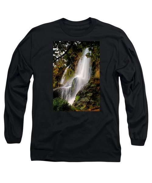 Long Sleeve T-Shirt featuring the photograph Rifle Falls by Priscilla Burgers