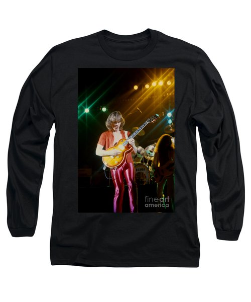 Rik Emmett Of Triumph At The Warfield Theater In San Francisco Long Sleeve T-Shirt