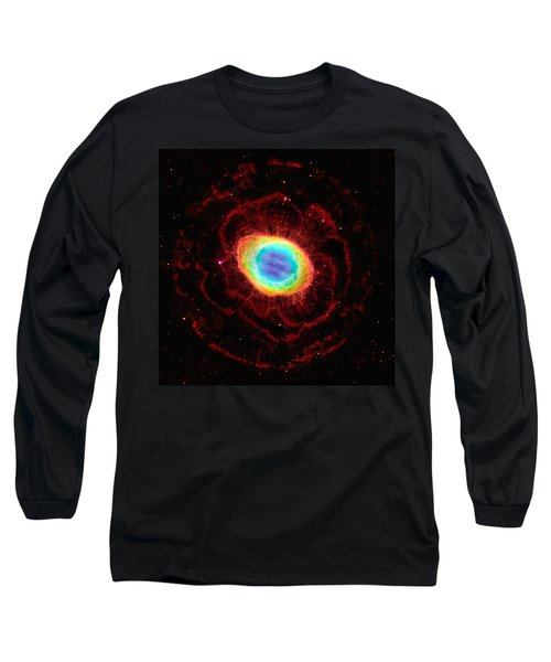 Ring Nebula's True Shape Long Sleeve T-Shirt