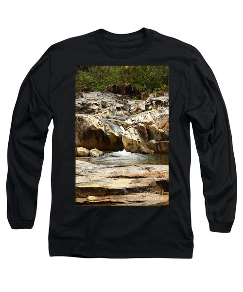 Rio On Pools Long Sleeve T-Shirt by Kathy McClure