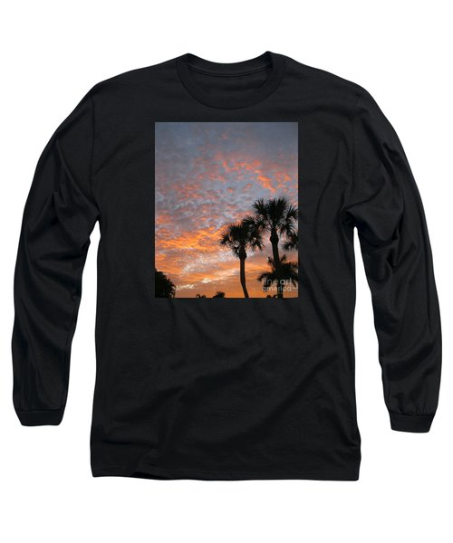 Rise And Shine. Florida. Morning Sky View Long Sleeve T-Shirt