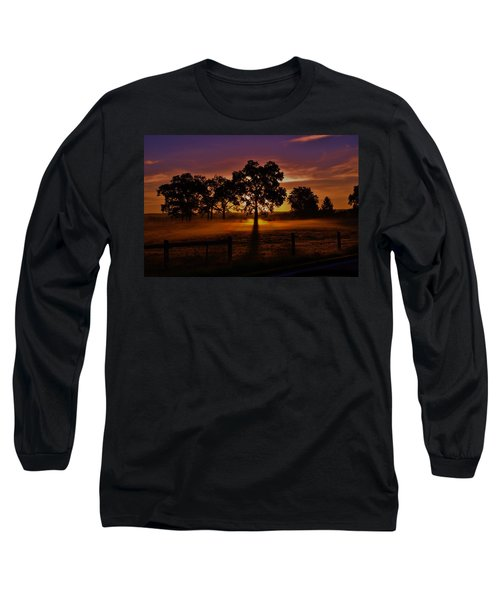 Rise Long Sleeve T-Shirt by Robert Geary