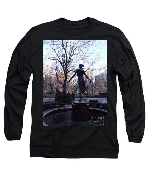 Rittenhouse Square At Dusk Long Sleeve T-Shirt