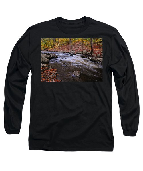 River Of Color Long Sleeve T-Shirt by Dave Mills
