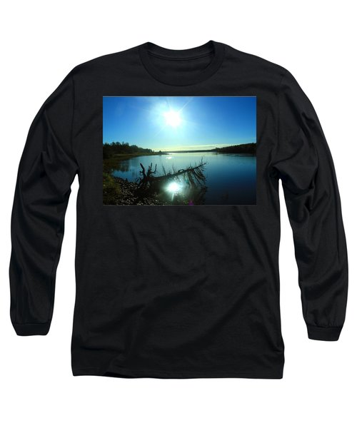 Long Sleeve T-Shirt featuring the photograph River Ryan by Jason Lees
