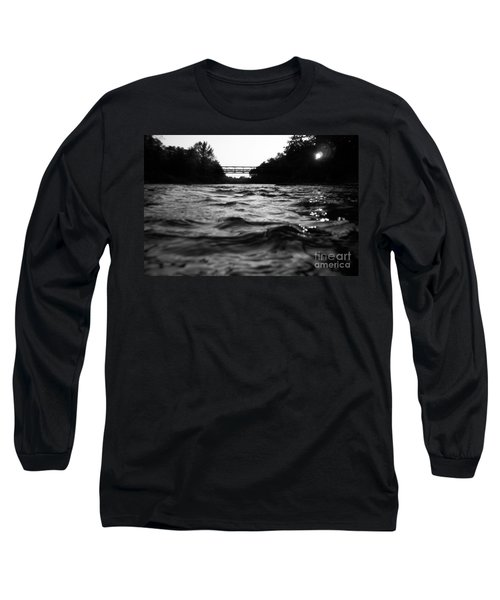 Long Sleeve T-Shirt featuring the photograph Rivers Edge by Michael Krek