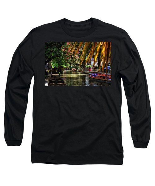 Riverwalk II Long Sleeve T-Shirt by Tricia Marchlik