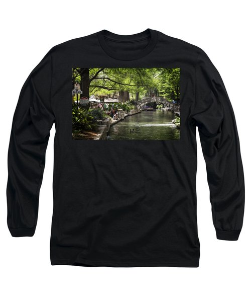 Long Sleeve T-Shirt featuring the photograph Girl By The Water by Steven Sparks