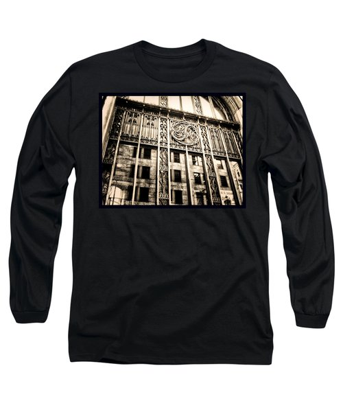 Long Sleeve T-Shirt featuring the photograph Rm Montreal by Shawn Dall