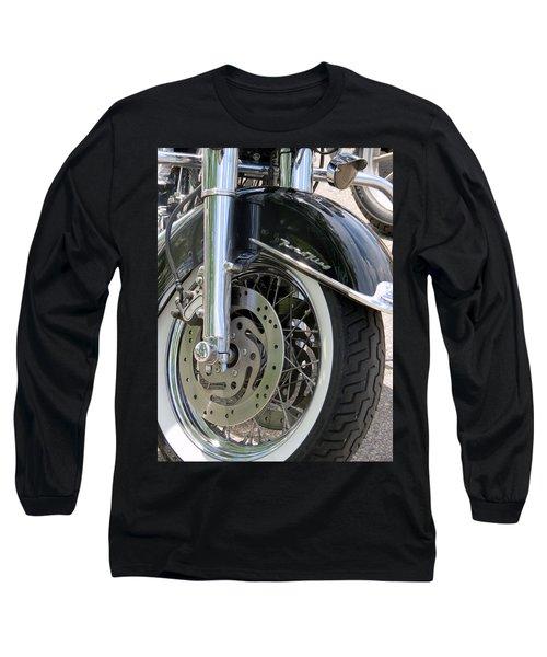 Road King Long Sleeve T-Shirt by Kay Novy