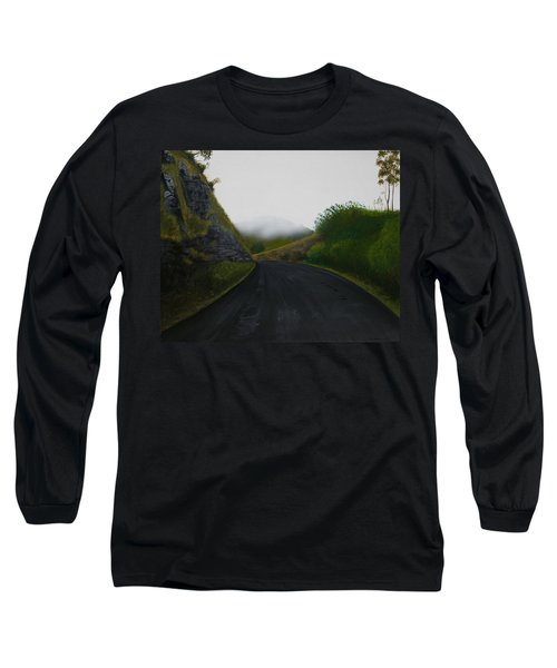 Road Near Gresford Nsw Long Sleeve T-Shirt by Tim Mullaney