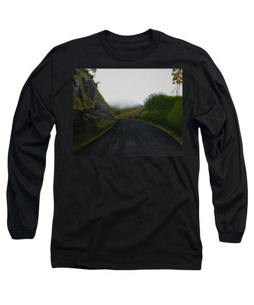 Road Near Gresford Nsw Long Sleeve T-Shirt