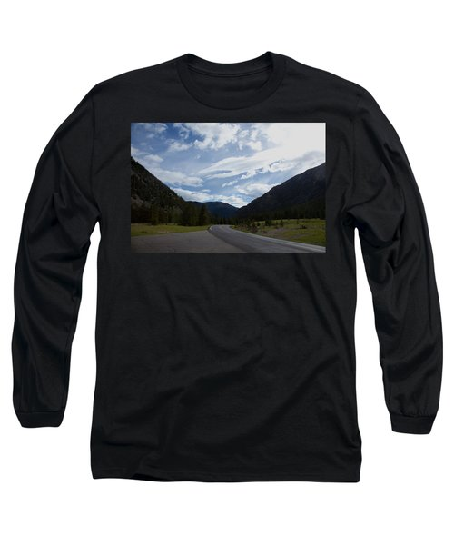 Road Through The Mountains Long Sleeve T-Shirt
