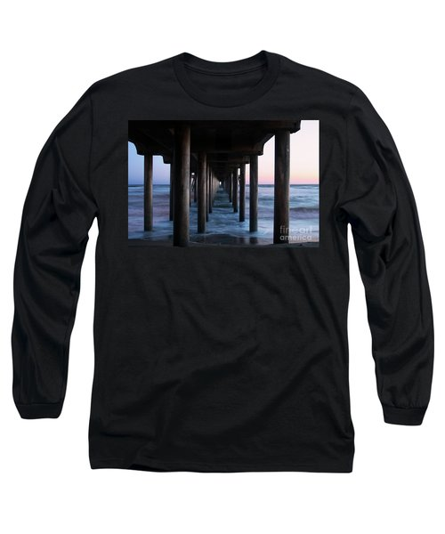 Road To Heaven Long Sleeve T-Shirt by Mariola Bitner