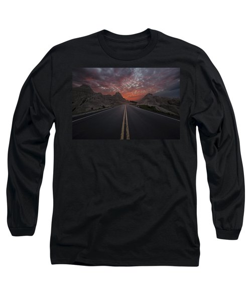 Road To Nowhere Badlands Long Sleeve T-Shirt