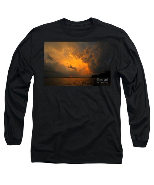 Long Sleeve T-Shirt featuring the photograph Roar Of The Heavens by Terri Gostola