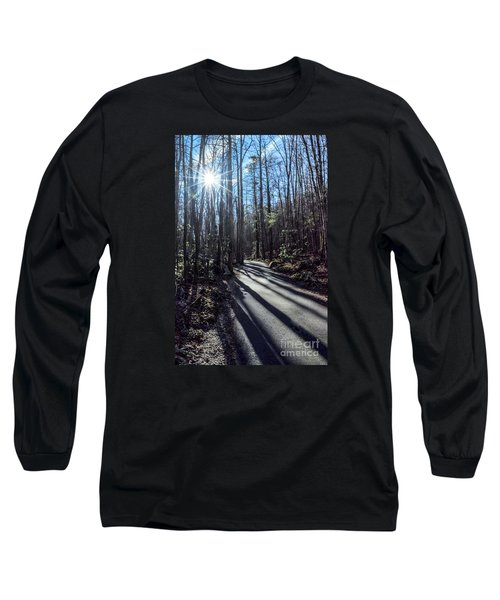 Long Sleeve T-Shirt featuring the photograph Roaring Fork Road by Debbie Green