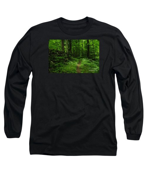Long Sleeve T-Shirt featuring the photograph Roaring Fork Trail by Debbie Green