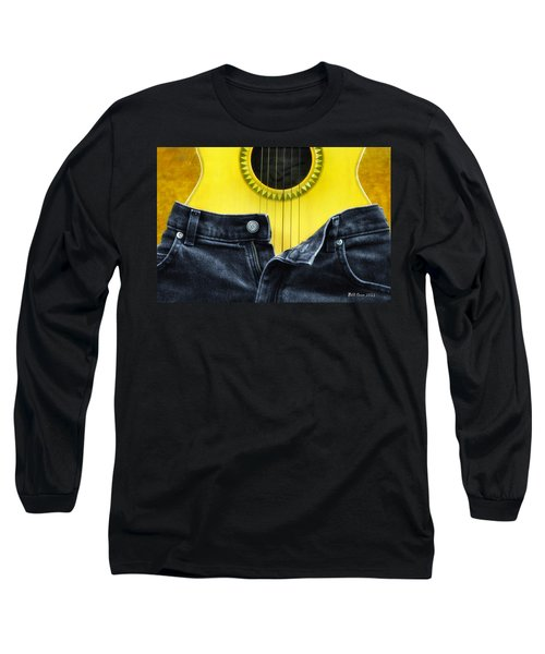 Long Sleeve T-Shirt featuring the photograph Rock And Roll Woman by Bill Cannon