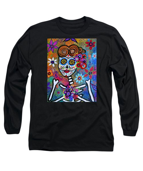 Rockabilly Frida Long Sleeve T-Shirt