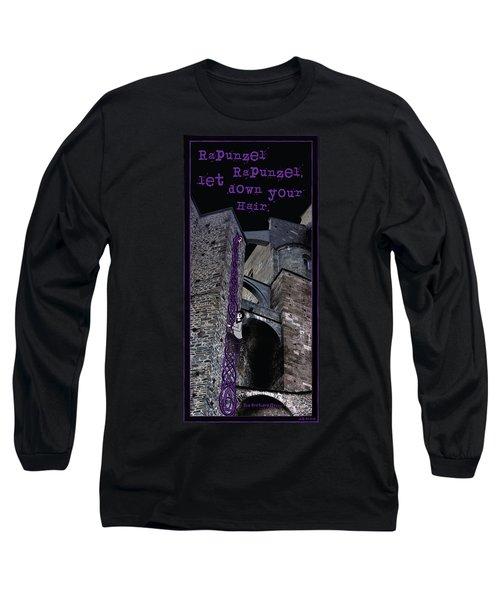 Rockin' Raven Celtic Rapunzel Long Sleeve T-Shirt