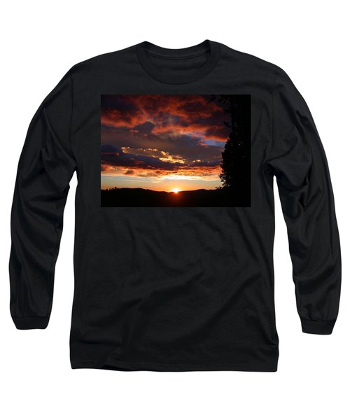 Rocky Mountain Sunset Long Sleeve T-Shirt